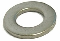"WFLSS5/16-D 5/16"" FLAT WASHER 3/4"" OD .050 THICK 304SS - DOMESTIC MFG."
